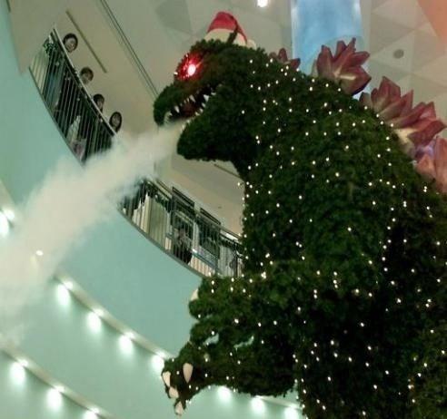 Godzilla karácsony